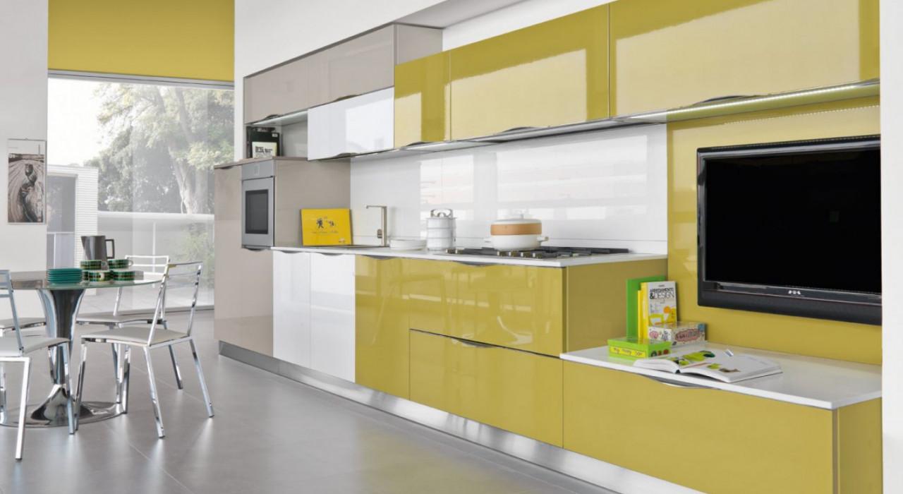 Ante in vetro: la soluzione per illuminare la cucina ...