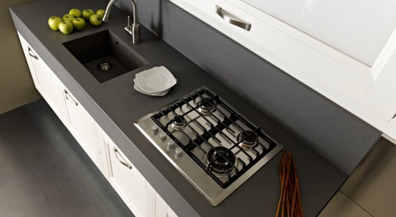 Top cucina guida per sostituirlo secondlifekitchen - Top cucina in okite ...