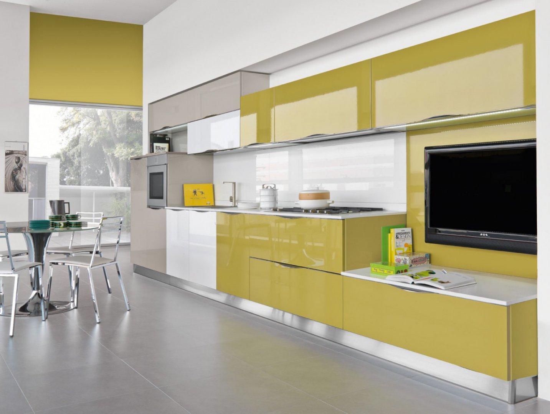 Ante in vetro la soluzione per illuminare la cucina - Ante in vetro cucina ...