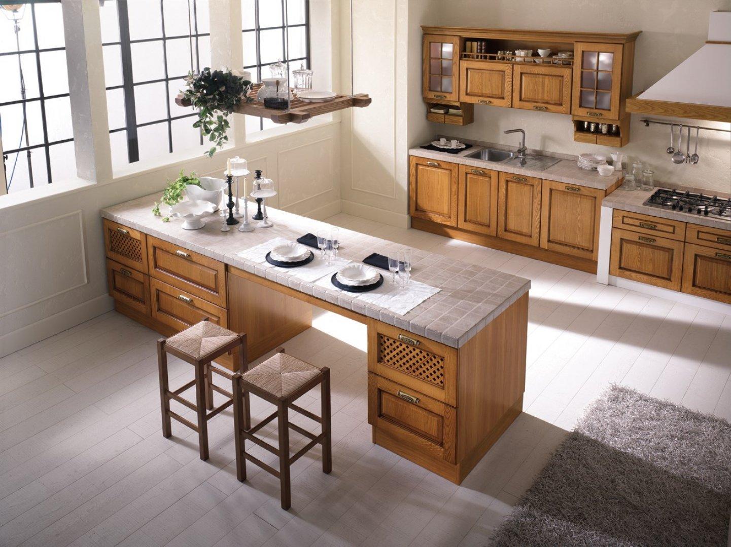 Le ante cucina per uno stile minimal e moderno for Stile country moderno